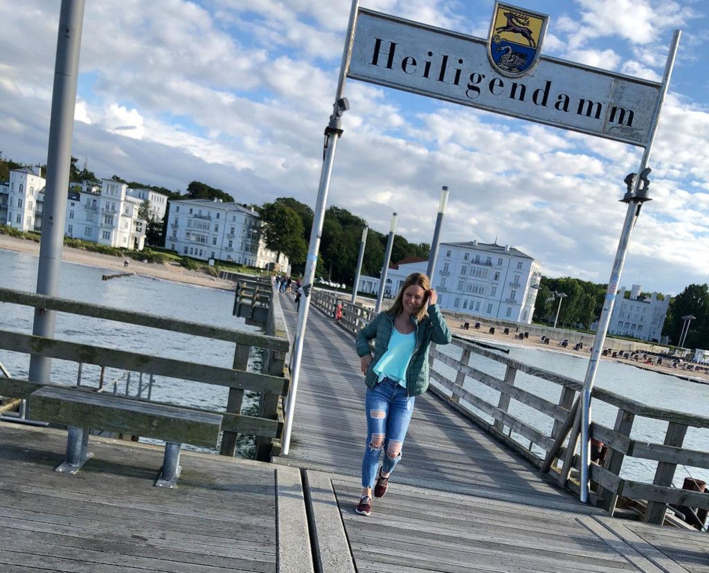 Ayla in Heiligendamm, (c) Ayla Kusuran