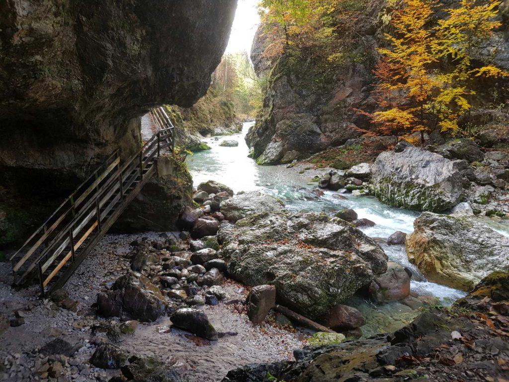 Grotte, Slizza Schlucht in Tarvis, © Elisabeth Pfeifhofer