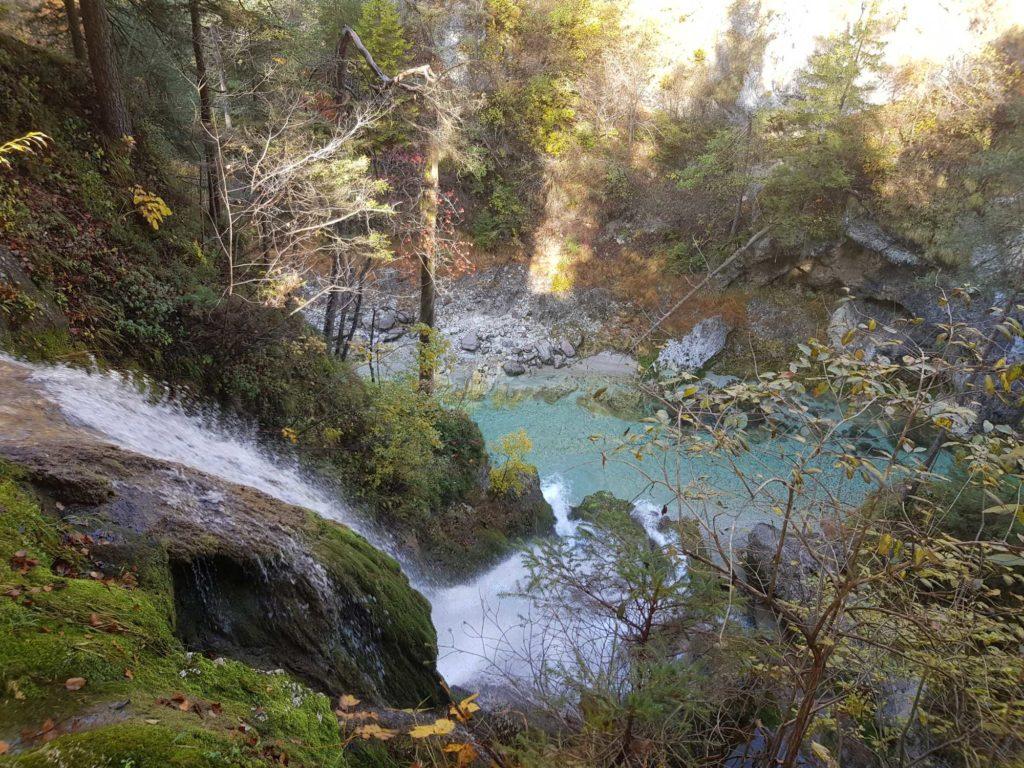 Wasserfall Slizza Schlucht in Tarvis, © Elisabeth Pfeifhofer